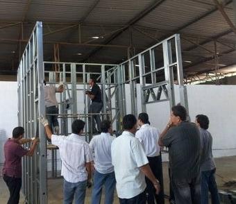 Artmódulo participa de treinamento sobre Light Steel Framing